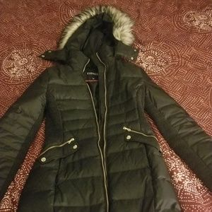 Long Puffer jacket EXPRESS